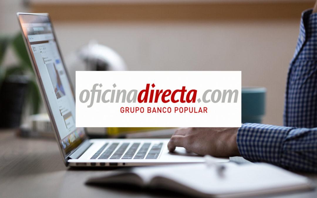 """Las clausulas suelo de """"Oficina Directa"""" de Banco Pastor también son abusivas"""